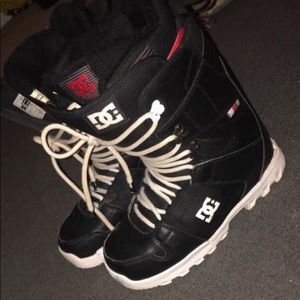 Dc ultralite snowboarding boots